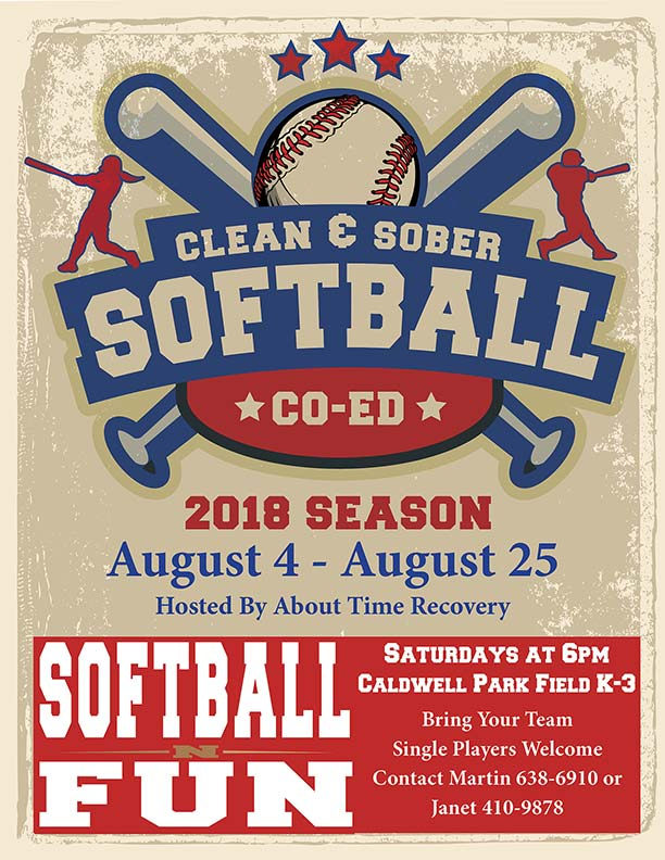 Clean & Sober Softball